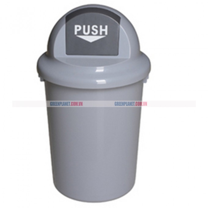 Thùng rác nhựa không bánh xe 60 lít