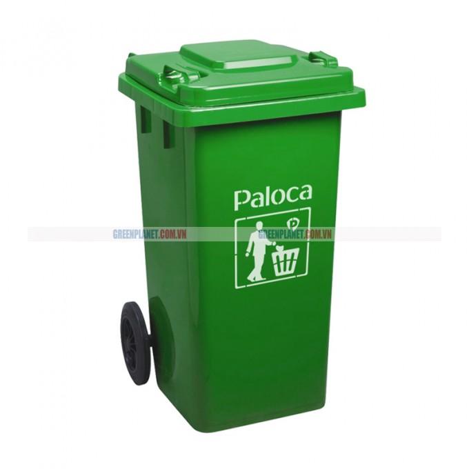 Thùng rác nhựa 240L có bánh xe