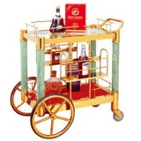 Xe đẩy tủ trưng bầy rượu cao cấp WY-36
