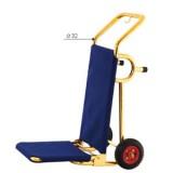 Xe đẩy kéo hành lý khách sạn inox