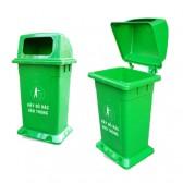 Thùng rác nhựa có nắp MGB 95N1Đ