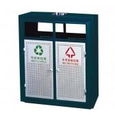 Thùng rác ngoài trời 2 ngăn phân loại rác thải A37W