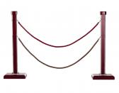 Cột chắn cao cấp dây nhung trùng G28-LE