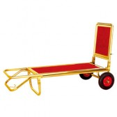 Xe đẩy hành lý khách sạn bằng inox 2 bánh