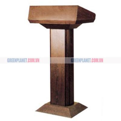 Bục thuyết trình gỗ cao cấp