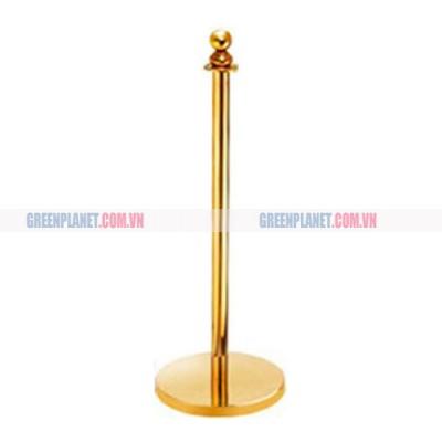Cột chắn inox mạ vàng