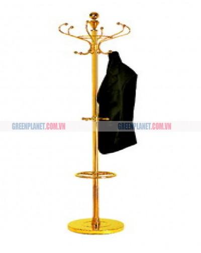 Cột móc treo quần áo di động inox G-5