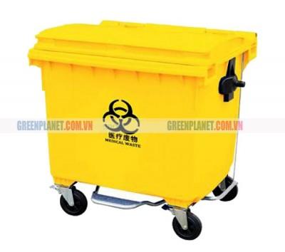 Thùng rác y tế 660 lít