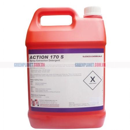 Hóa chất giặt thảm giặt ghế nỉ Action 170 S