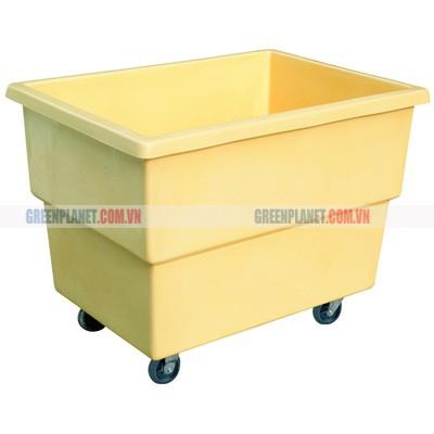 Xe đẩy đồ giặt là được làm bằng nhựa