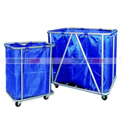Xe đẩy đồ giặt là to & nhỏ D-024 và D-023