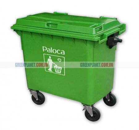 Báo giá thùng rác nhựa 660 lít, 660L giá rẻ