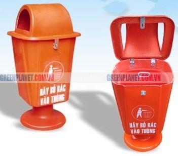Thùng rác nhựa hàng Việt Nam