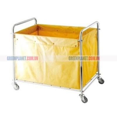 Xe chuyển đồ vải trong bệnh viện E4-D
