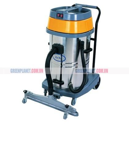Máy hút bụi hút nước có bàn hút gắn với thân máy