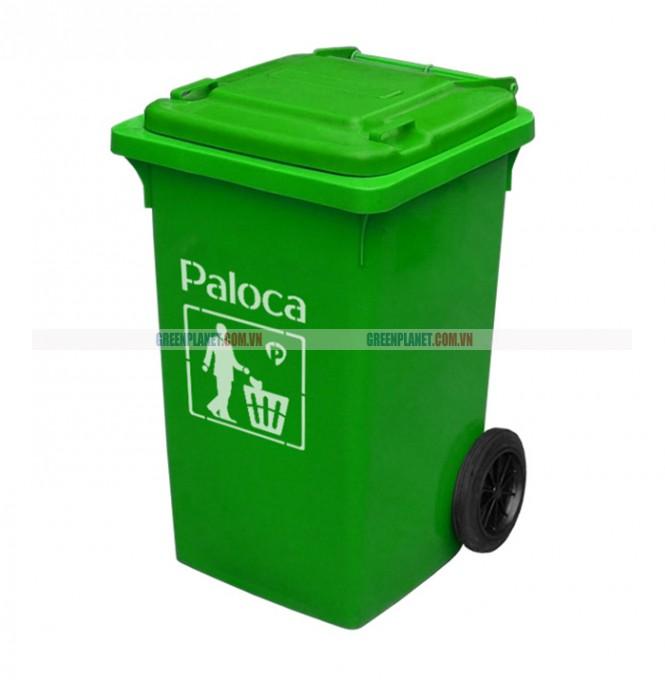 Thùng rác HDPE 80 lít