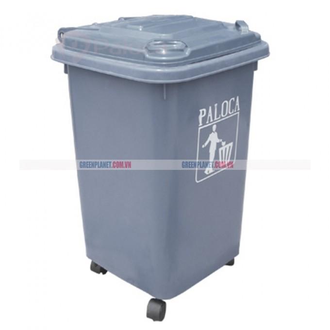 Thùng rác composite 60 lít