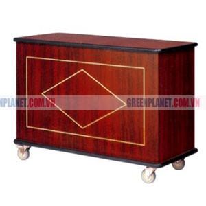 Tủ bếp di động đẹp cao cấp bằng gỗ WY-83