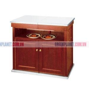 Tủ bếp gia đình thông minh mặt inox WY-103