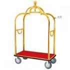 Xe đẩy hành lý khách sạn inox mạ vàng