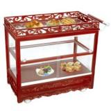 Tủ để bầy thức ăn di động bằng kính WY-113