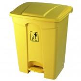 Thùng rác nhựa nhỏ có nắp đạp chân 30L