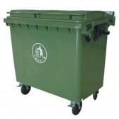 Thùng rác nhựa công nghiệp 660 lít