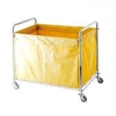 Xe chuyển đồ vải trong bệnh viện