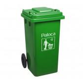 Thùng rác nhựa 240L nhập khẩu có bánh xe