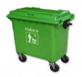 Thùng rác nhựa 660 lít