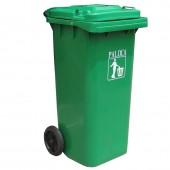 Thùng rác nhựa HDPE 120 lít có bánh xe