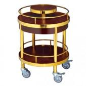 Kệ phục vụ rượu tròn 2 tầng loại nhỏ WY-56