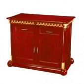 Tủ bếp bằng gỗ cao cấp gia đình WY-100