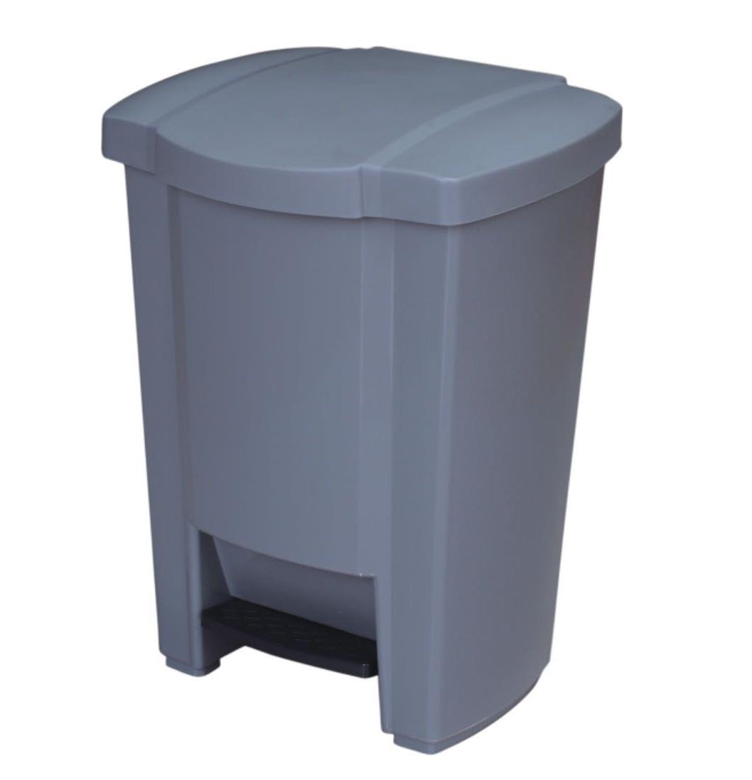 Thùng rác nhựa có nắp đạp chân nhập khẩu.