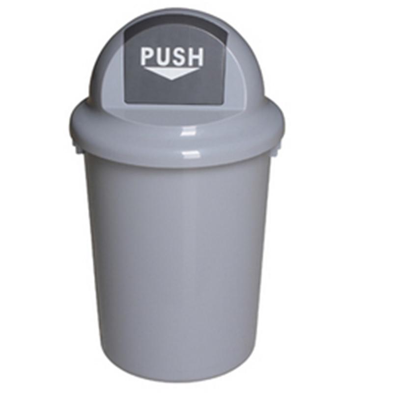 Thùng rác nhựa không bánh xe 60 lít.
