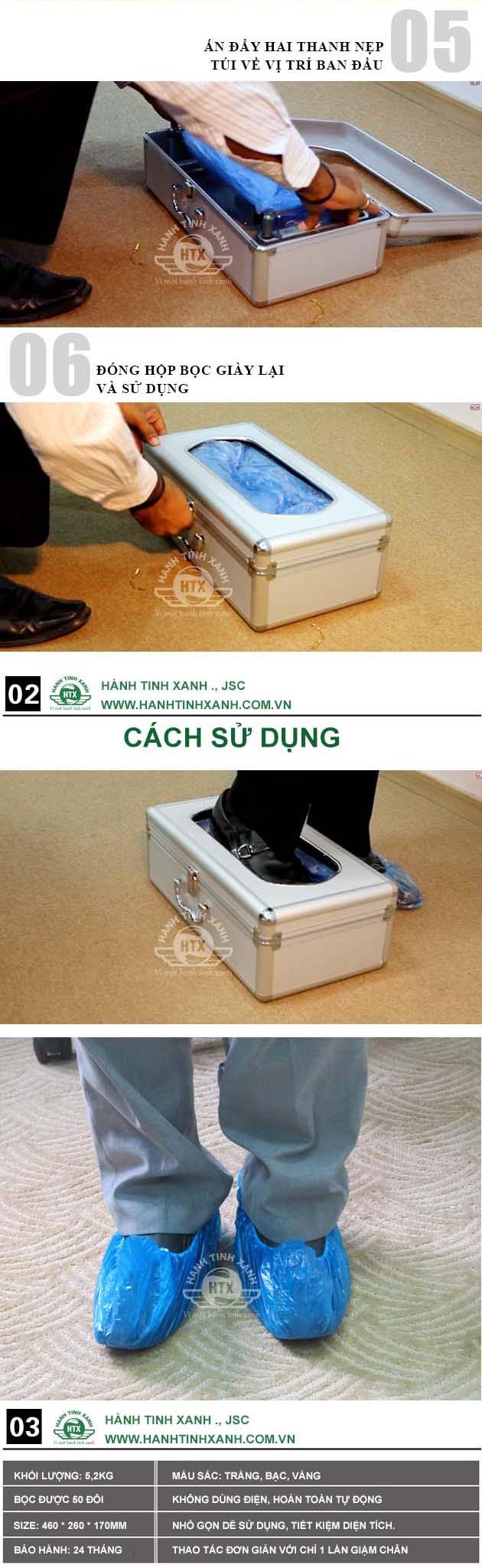 Hộp bọc giày