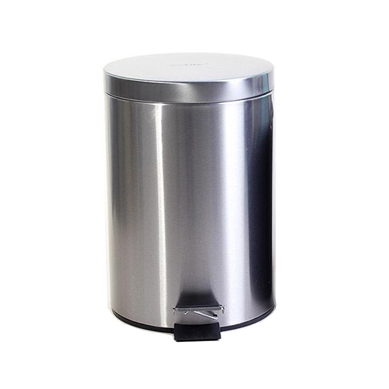 Thùng rác inox đạp chân 8 lít