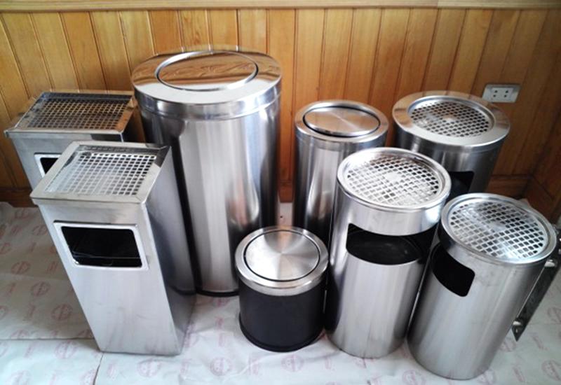 Thùng rác inox Hà Nội