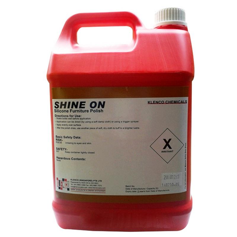 Hóa chất làm sạch và đánh phủ bóng đồ đạc Shine On