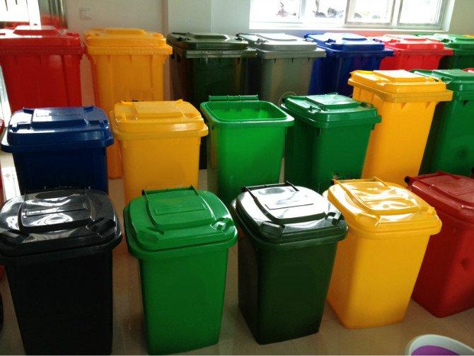 Thùng rác tại Tiền Giang