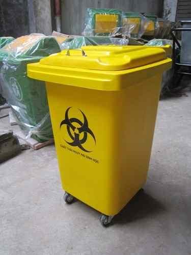 thùng rác nhựa y tế 60 lít
