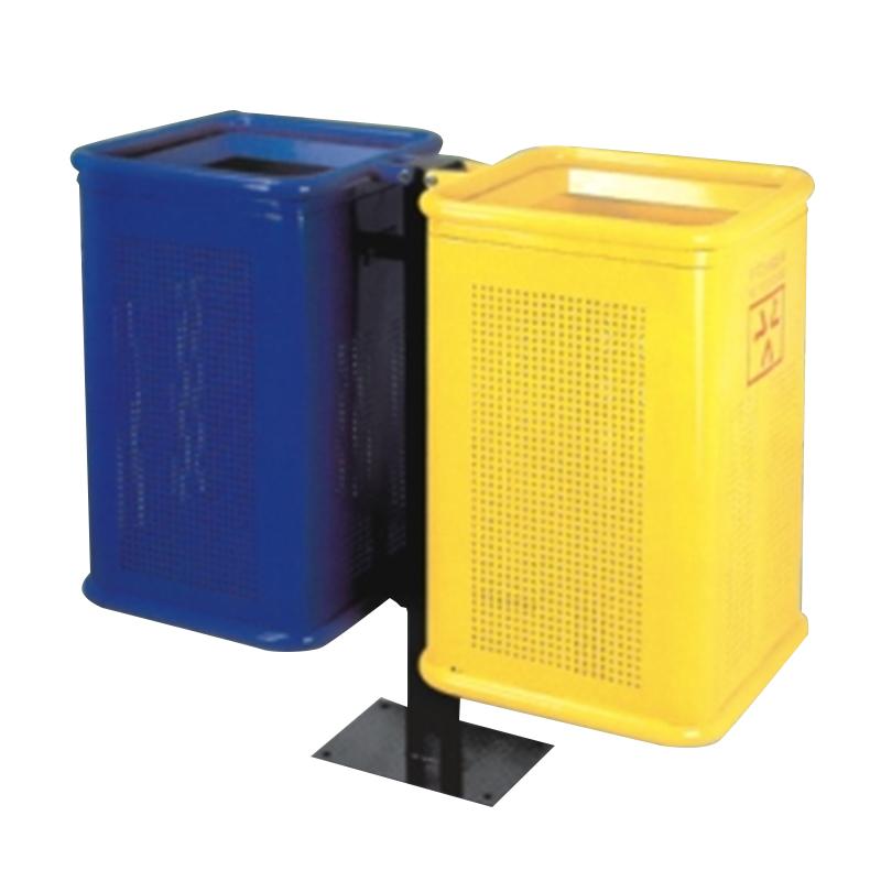 Thùng rác đôi phân loại rác