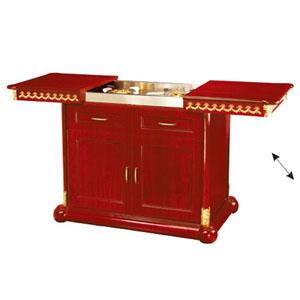 tủ bếp bằng gỗ cao cấp wy-100