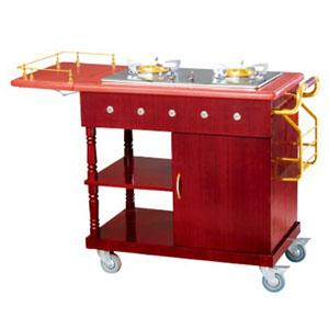 xe phuc vụ bàn có bếp nấu ăn WY-94
